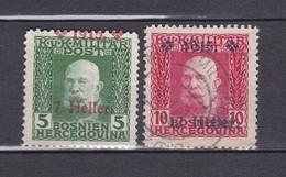 Bosnien Und Herzegowina - 1915 - Michel Nr. 93/94 - 1850-1918 Empire