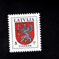 802390142 1994 SCOTT 366 POSTFRIS MINT  NEVER HINGED EINWANDFREI (XX)  PROVINCIAL MUNCIPAL ARMS - VIDZEME - Lettonie