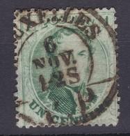 N° 13 B Défauts  BRUXELLES PP COB 30.00 - 1863-1864 Medallions (13/16)