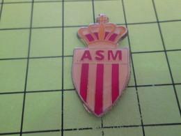 610c Pins Pin's / Rare & Belle Qualité THEME SPORTS / CLUB DE FOOTBALL DE MONACO ASM Tu Aimes Le SM, Albert ? - Football