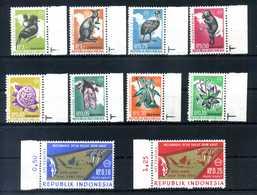 1968 INDONESIA Irian Barat SET MNH ** 10V - Indonesia