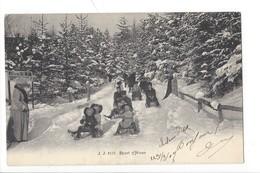 22222 - Sport D'hiver Partie De Luges + Cachets Ambulant Montreux-Zweisimmen Et Linéaire Château-d'Oex - Sports D'hiver