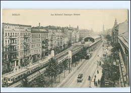 XX005245/ Berlin Bahnhof Danziger Straße  Straßenbahn AK Ca.1910 - Germany