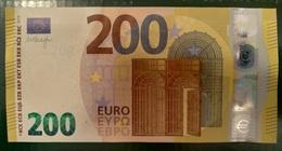 200 EURO S002C1 Italy Serie SE Ch00 Draghi Perfect UNC - EURO