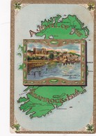 Shamrock Isle , Map & Queenstown , Co. Cork , 1911 - Cork