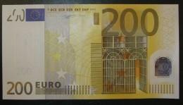 200 EURO J001F4 Italy Serie S DUISENBERG Perfect UNC - EURO