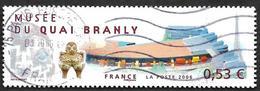 FRANCE  2006 - Y&T  3937 -  MUsee Branly  - Oblitéré - Gebraucht
