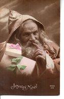 Vraie Photo Colorisée : Très Beau  Père Noël - Santa Claus