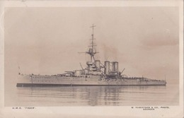 """GB   HMS Tiger  1915 Has Passed Censor Cachet.""""payment Request"""" By """"invoice"""" - Warships"""