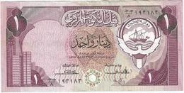 Kuwait 1 Dinar 1980 Pk 13 A Ref 4 - Kuwait