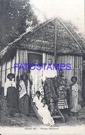 115979 AFRICA MADAGASCAR NOSSY - BE COSTUMES NATIVE VILLAGE SAKALAVA POSTAL POSTCARD - Postcards