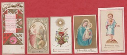 Image Pieuse - SANTINO - Holly Card - N° 282 - 5 Pc - Images Religieuses
