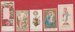 Image Pieuse - SANTINO - Holly Card - N° 282 - 5 Pc - Devotieprenten
