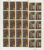 Greece 1979 Accession EU 2v Sheetlets (shtlts Are 2x Folded) ** Mnh (43549) - Europese Gedachte