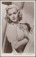 Actress Carole Landis, C.1940 - Picturegoer RP Postcard - Artistas