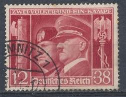 Duitse Rijk/German Empire/Empire Allemand/Deutsche Reich 1941 Mi: 763 Yt: 687 (Gebr/used/obl/o)(4554) - Duitsland