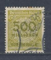Duitse Rijk/German Empire/Empire Allemand/Deutsche Reich 1923 Mi: 324 AW Yt:  (Gebr/used/obl/o)(4557) - Duitsland