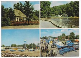 7113  MARKKLEEBERG  -  MEHRBILD  1969    MÄHDRESCHER - Markkleeberg