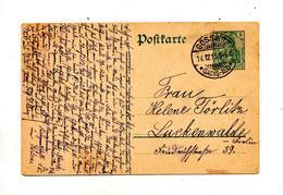 Carte Postale 5 Germinia Cachet Gössnitz - Ganzsachen