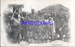 115986 AFRICA DAKAR SENEGAL COSTUMES FAMILY LAHOBE POSTAL POSTCARD - Postcards