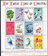 Ile CHRISTMAS   Timbres Neufs ** De 1977  ( Ref 578 A ) -Douze Jours De NOEL - Christmas Island