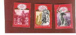URSS -  YV. 4684.4686  -  1980 WORLD WAR II VICTORY    (COMPLET SET OF 3)   - MINT** - Nuovi