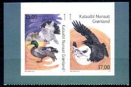 Europa 2019 - Groenland Greenland - Oiseaux National Birds - De Carnet From Booklet Aus Heftchen ** - Birds