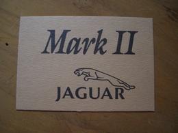 Carte Jaguar Mark II* - Perfume Cards