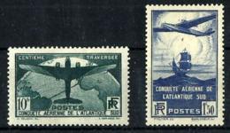 Francia Nº 320/21 Con Charnela - Unused Stamps