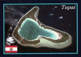 1 AK Atoll Tupai * Französisch Polynesien - Luftbildaufnahme - French Polynesia * - Polinesia Francese