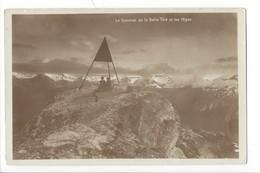 22235 - St-Luc Le Sommet De La Bella Tola Et Les Alpes - VS Valais
