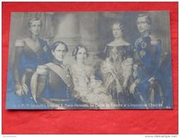 Le Roi Léopold I, Le Roi Léopold II, Marie Henriette, Comte De Flandre Et L'Impératrice Charlotte - Familles Royales