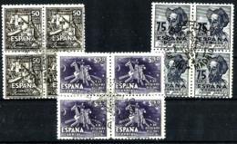 España Nº 1012/14 (bloque-4) USADO - 1931-Hoy: 2ª República - ... Juan Carlos I