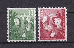 BRD - 1952 - Michel Nr. 153/54 - Postfrisch - 40 Euro - BRD