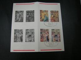 """BELG.1979 1932/35 Met 1°dagstempel Brussel Op NL Postfolder :""""MILLENAIRE DE BRUXELLES"""" - 1971-80"""