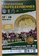 Médaille Touristique Rencontres Napoléoniennes 2014 Brienne Le Chateau - Arthus Bertrand