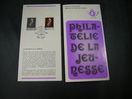 "BELG.1975 1779 FDC (Liege) Folder Fr. : ""Jeugdfilatelie/Philatelie De La Jeunesse"" - FDC"