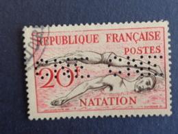 1953 PERFORATION C N E CERES N° 960 - Perforés