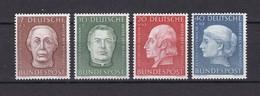 BRD - 1954 - Michel Nr. 200/203 - Postfrisch - 55 Euro - BRD