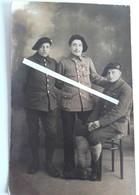 1916 Chasseurs à Pieds 60 Eme Bataillon Croix Guerre Palme Citation Medaille Militaire Poilus 1914 1918 WW1 14/18 1WK - Guerra, Militari