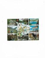 Carte Postale Valls D'Andorra (Andorre) Multi Vues Avec Carte D'Andorre - Andorra