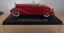 PACKARD V12 LEBARON 1934-1/43-(neuve Avec Sa Boîte Cristal)-ATLAS - Cars & 4-wheels