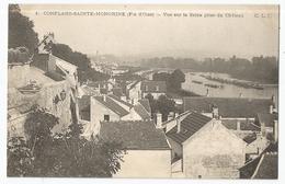 CPA [78] Yvelines > Conflans Sainte Honorine ( Fin D'Oise ) Vue Sur La Seine Prise Du Château - Conflans Saint Honorine