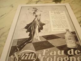 ANCIENNE  PUBLICITE SUR LA GRANDE SCENE EAU DE COLOGNE 4711 1929 - Perfume & Beauty