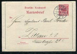 Deutsches Reich / 1899 / Kartenbrief Jahrhundert-Stempel ZITTAU 9.9.99 (19339) - Germany
