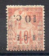 Nle CALEDONIE - YT N° 13a - Neuf * - MH - Cote: 25,00 € - Neufs