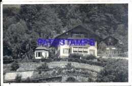 116012 SWITZERLAND WEESEN CHALET KAPFENBERG CIRCULATED TO ARGENTINA POSTAL POSTCARD - Ohne Zuordnung