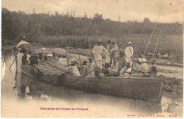 DESCENTE DE L IKOPA EN PIROGUE - Madagascar