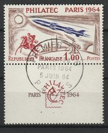 FRANCE 1964 YT N° 1422 Obl. AVEC VIGNETTE - France