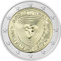 "Lithuania 2 Euro Coin 2019 ""Lithuanian Multipart Songs"" UNC - Litouwen"